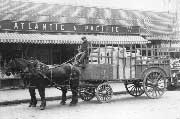 Horse drawn A&P wagon