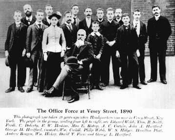 earliest office workforce